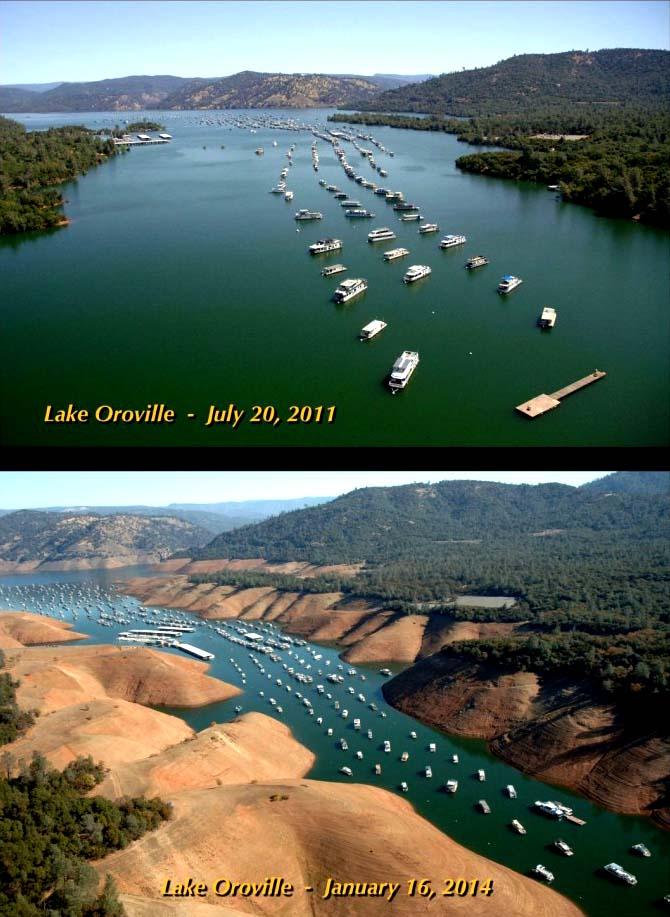 California - szárazság