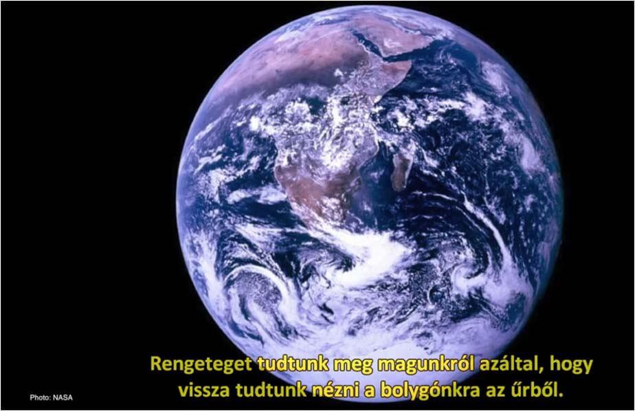 Apollo 8-ról a Föld - A Trump körüli valóság - ClimeNews - Hírportál