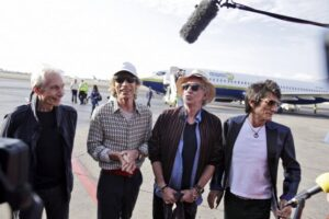 A Rolling Stones tagjai Havannában Forrás: Getty Images/2016 Sven Creutzmann/Mambo Photo/Sven Creutzmann/Mambo Photo
