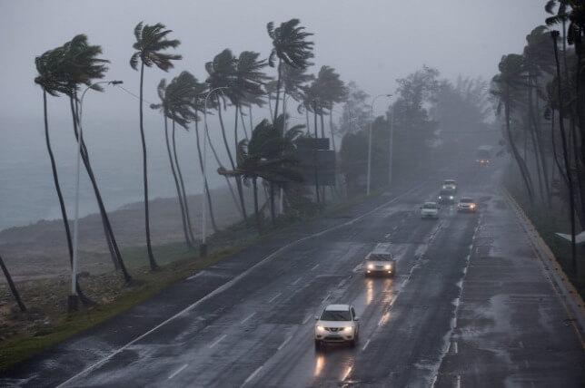 Trópusi vihar Forrás: Nem York Post - ClimeNews