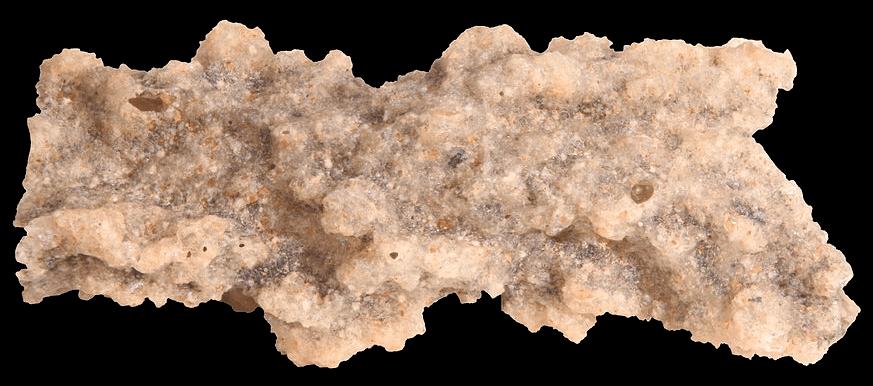 Homokos talajba csapott villám által létrehozott ásvány, a fulgurit Forrás: Wikimedia Commons