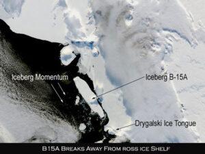 B15ABreaksAway - Újabb egyértelmű hatása a klímaváltozásnak - ClimeNews