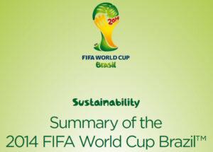 FIFA VB 2014 sustainability
