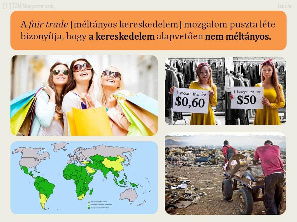 A méltányos vagy becsületes kereskedelem - ClimeNews - Hírportál