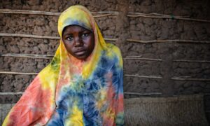 Fatima Mussa, 16 and nine months pregnant, lives in Nataka, in the district of Larde, near the coast in eastern Mozambique