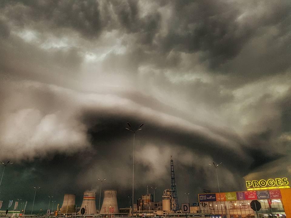 Furtuna - Óriási vihar pusztított Erdélyben - ClimeNews