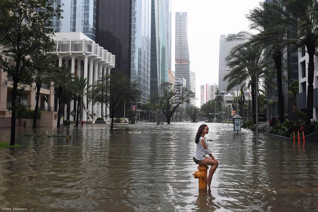 Miami 2017. szeptember 11-én | Fotó: The Washington Post