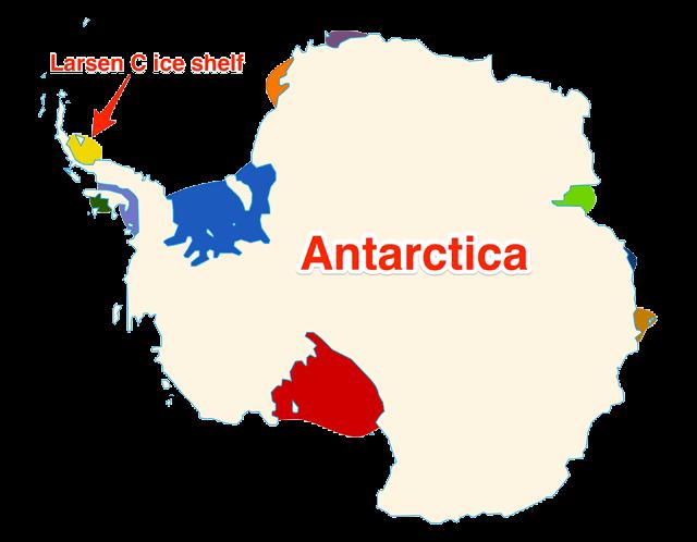 Leszakadt egy 1 billió (!) tonnás jégdarab az Antarktiszról - ClimeNews - Hírportál