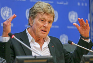 "Robert Redford told the United Nations at a general assembly yesterday, ""This may be our last chance"" to curb the damage of greenhouse gases on the planet."